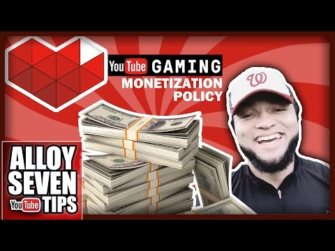 """Youtube Gaming Monetization Policy Explained - """"What Can I Monetize On YouTube?"""" - Answered"""