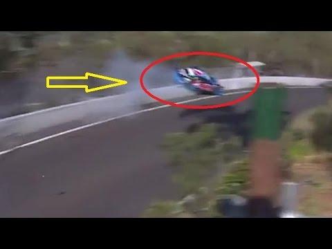HOROR CAR CRASH Bathurst 1000 touring car race in New South Wales, Australia,