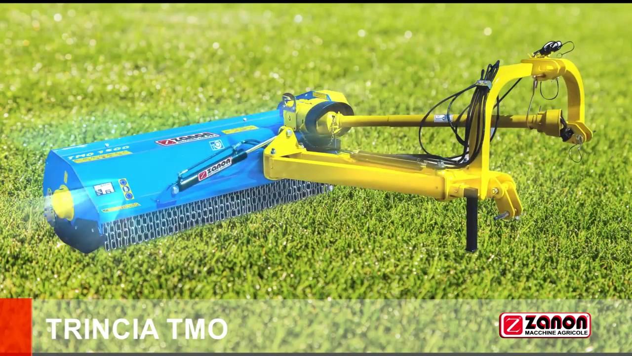 Trincia argini tmo zanon youtube for Trincia zanon