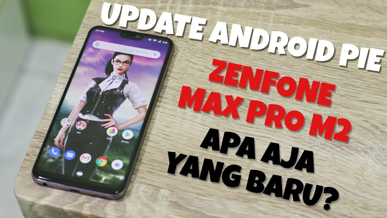 Begini Cara Update Android Pie Stable Official Zenfone Max Pro M2  Menggunakan TWRP