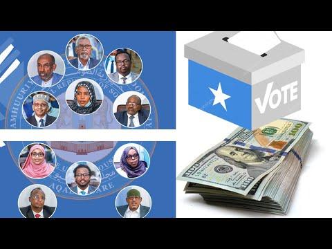 Wararkii ugu Danbeeyey Lacagta Kubaxday Doorashada Somaliland Aqalka Sare
