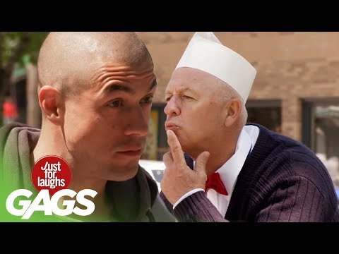 Kissing For Free Food - Just For Laughs Gags