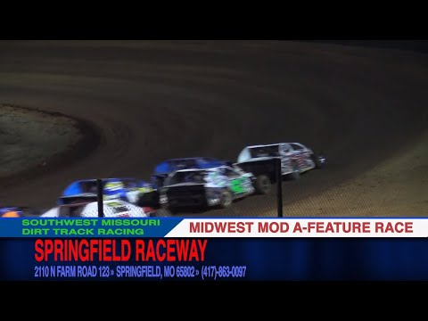 Midwest Mod A Feature Race | Springfield Raceway | 10.29.17