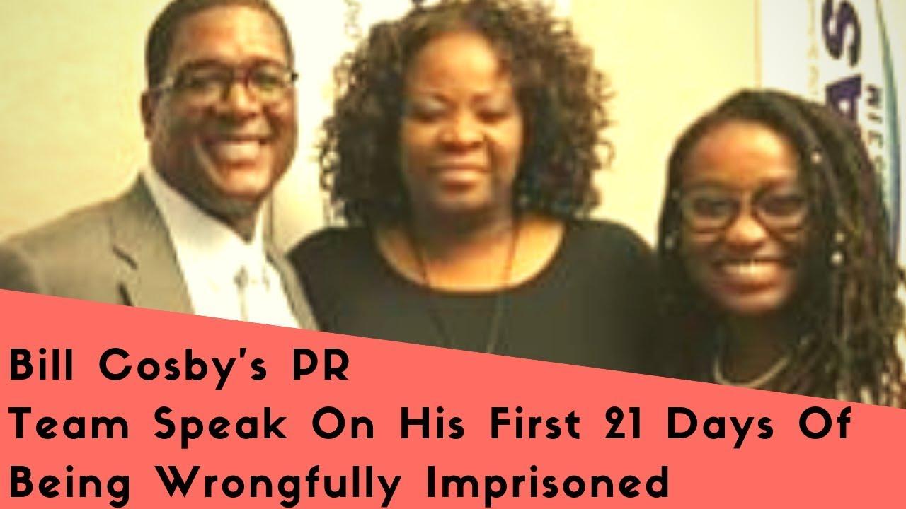 Exclusive!: Bill Cosby's PR Team Speak About His First 21 Days In Prison On 105.3 WDAS Philly