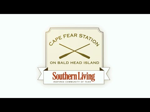 Southern Living Inspired Community of the Year - Cape Fear Station