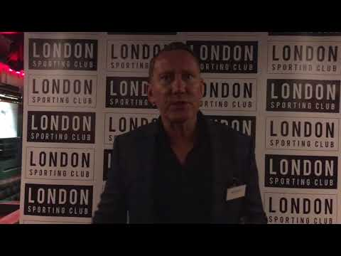 Ray Parlour at the London Sporting Club