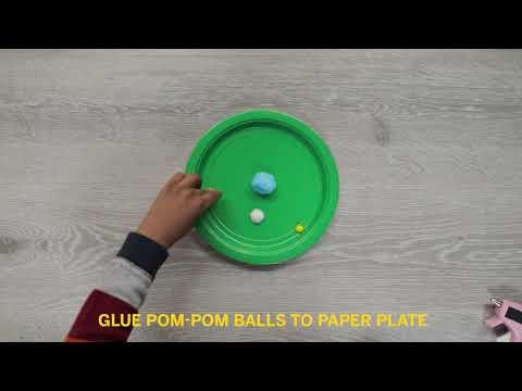 Paper Plate Marble Maze | STEAM Tutorial | Valero