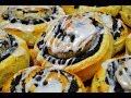 булочки с апельсиновой глазурью