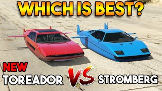 GTA 5 ONLINE : TOREADOR VS STROMBERG (WHICH IS BEST SUBMARINE CAR?)