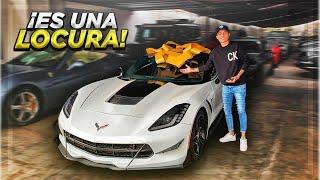 ESTE CORVETTE ES MI NUEVO AUTO? | ManuelRivera11