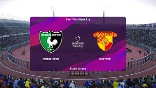 PES 2020   Denizlispor vs Goztepe - Super Lig   03/02/2020   1080p 60FPS