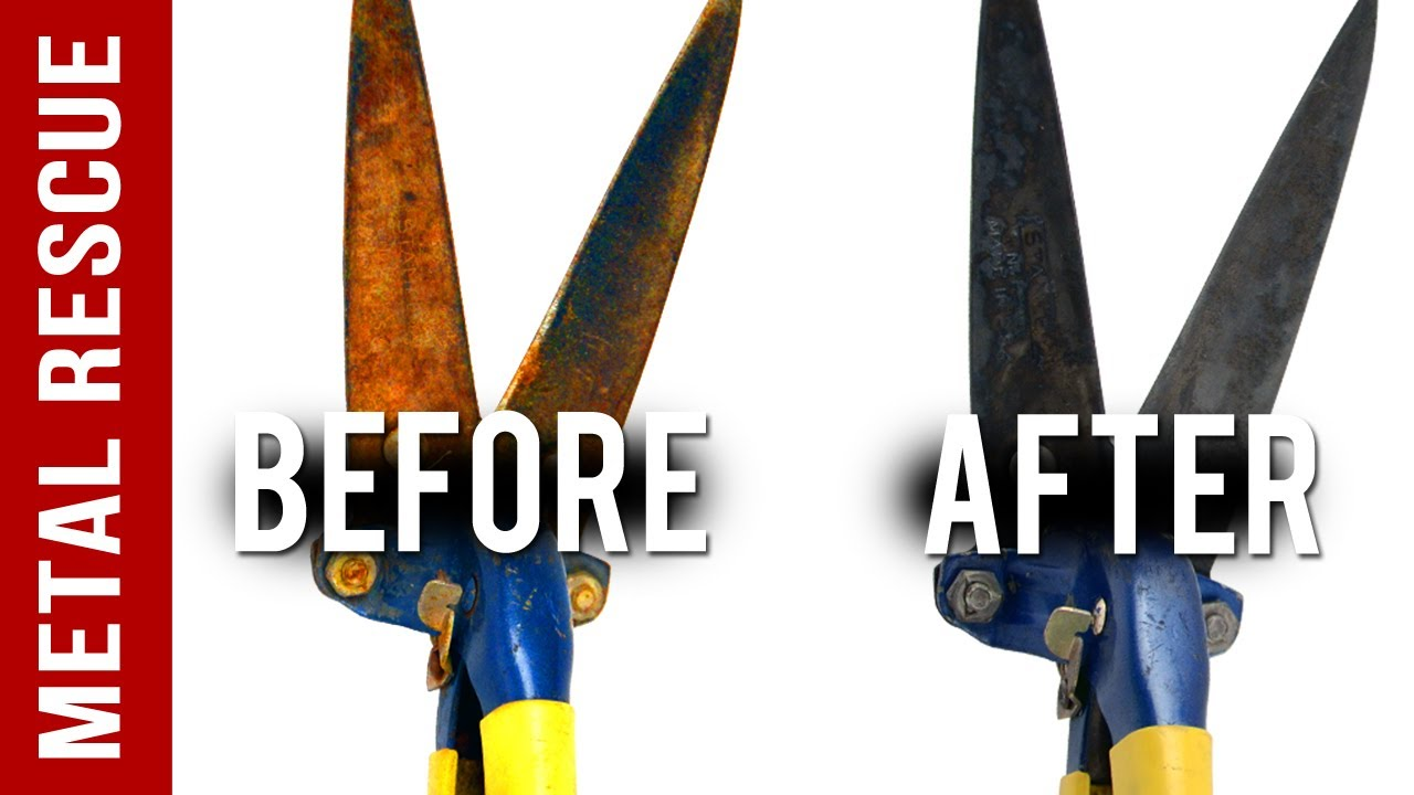 How To Remove Rust From Garden Shears