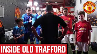 Man Utd Tunnel Cam, Warm Ups & Post Match Behind The Scenes | Manchester United 2-1 Arsenal