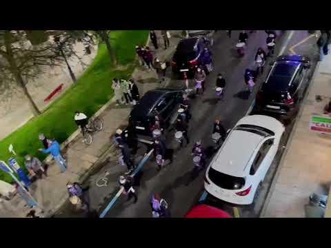 Manifestación por las calles de Santander con motivo del 8M