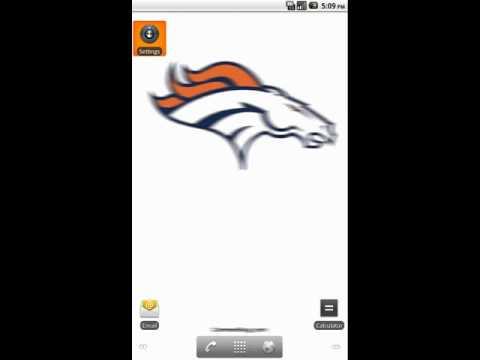 Denver Broncos Live Wallpaper By Http://commentbug.com