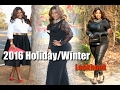 Holiday Winter Lookbook 2016 | New Year's Eve Party | Plus Size Fashion
