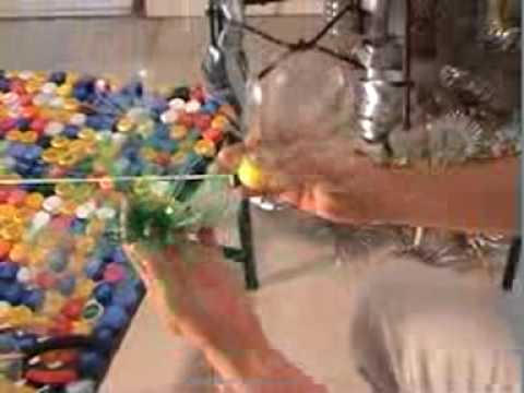 Art Recycling Plastic Bottles Recycled Plastic Flower Youtube