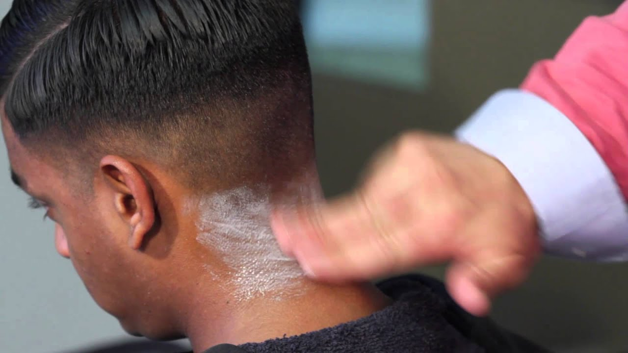 how to do a fade cut
