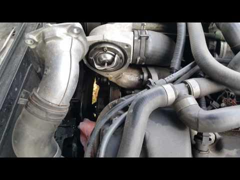 Jaguar XJR / X308 thermostat replacement