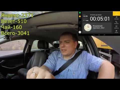 Пробуем заработать #2 : Яндекс.Такси Санкт-Петербург