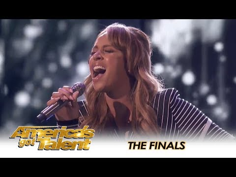 Glennis Grace LIGHTS UP The AGT FINALS Stage & We're SHOOK!! | America's Got Talent 2018