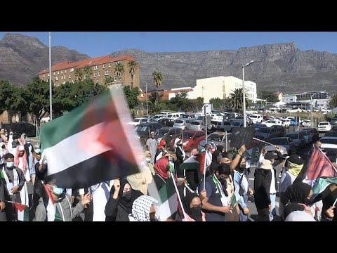 شاهد: مظاهرات في جنوب إفريقيا احتجاجا على مقتل فلسطينيين في غزة…  - 22:58-2021 / 5 / 11
