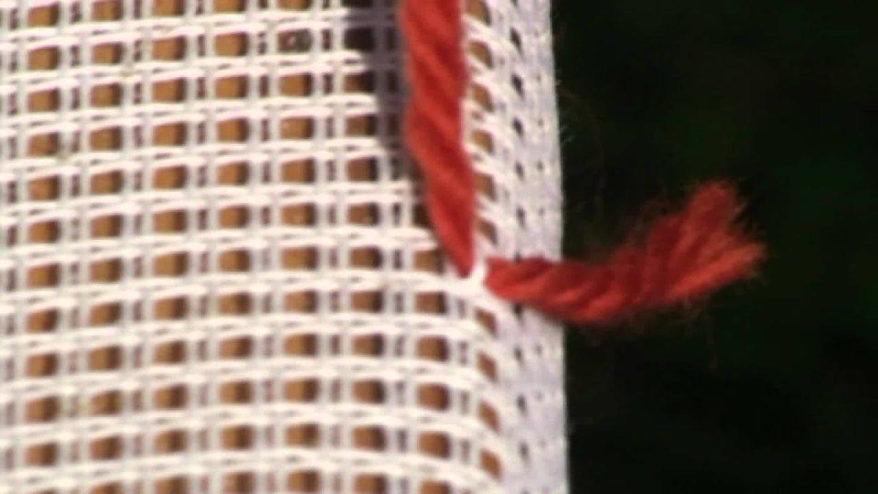 Tutorial - Teppichknuepfen - Ghiordesknoten