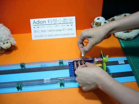 Diy model maglev train magnetic levitation train adion shasha science class youtube - What you can do with magnets ...