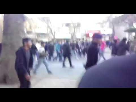 تظاهرات مردم در ساری، رشت، قزوین، اهواز، قم، زاهدان و همدان