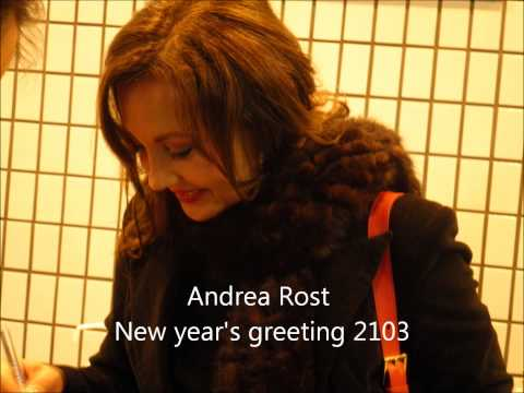 Andrea Rost New year's message