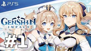 Genshin Impact PS5 Gameplay Walkthrough - Part 1