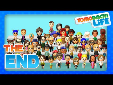 Tomodachi Life - Part 100 - Goodbye Molly Island! (3DS)
