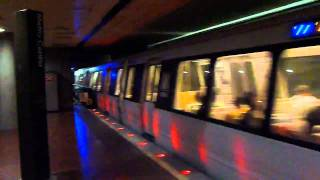 Ride on Washington D.C. Metrorail to Union Station
