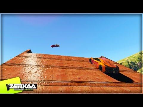 BIG BOOSTED JUMPS | GTA 5 Funny Moments (E716)