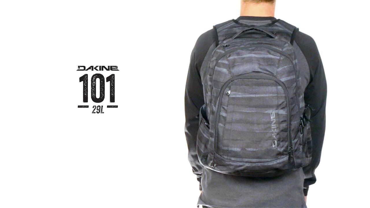 Dakine 101 Backpack - YouTube