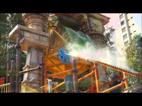 Nickelodeon Lost Lagoon at Sunway Lagoon Slime Time