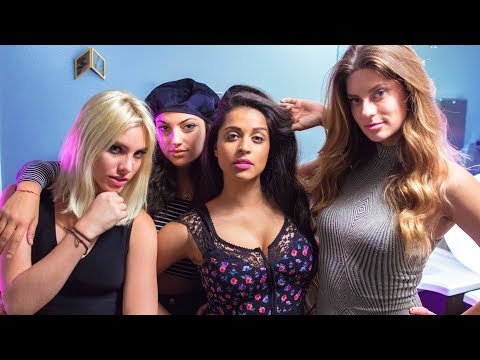 What Really Happens In A Women's Washroom (ft. Inanna Sarkis, Hannah Stocking, & Lele Pons)