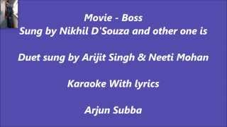Har Kisi Ko Karaoke With Lyrics BOSS