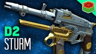 New exotic hand cannon sturm! | destiny 2 gameplay