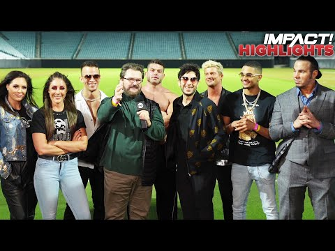 Tony Khan Brings AEW Roster for PAID AD on IMPACT! | IMPACT! Highlights Feb 23, 2021