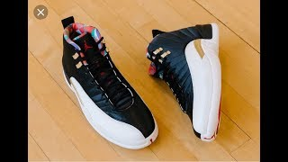 b64660d2cd3 air-jordan-12-cny-chinese-new-year-retro-2019-sneaker-on-foot Search ...