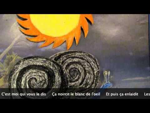 Chanson des escargots qui vont à l'enterrement- Jaques Prevert