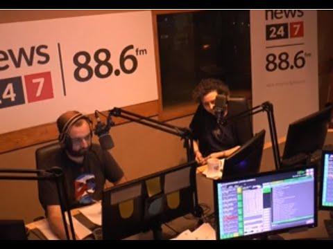 """26-6-2019 Η Ν. Βαλαβάνη συζητά με το κοινό στο ραδιοφωνικό σταθμό News 24 7 στην εκπομπή ¨Eίσαι στον αέρα"""""""