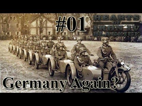 Hearts of Iron IV BlackICE - 01 Germany Again?