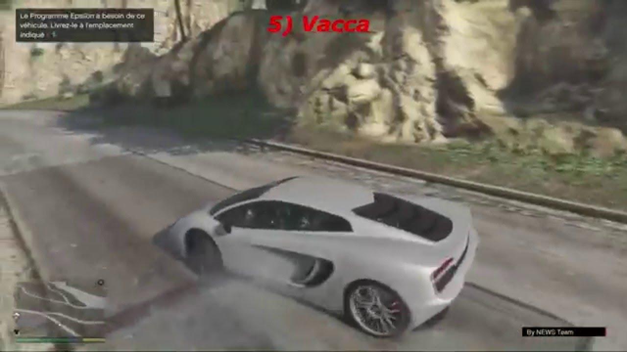 [ GTA 5 ] Localisation des 5 voiture requis pour une ...