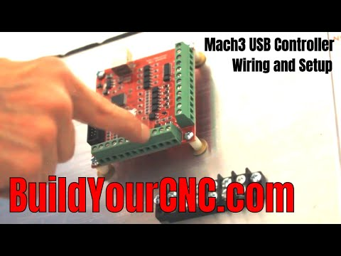 Mach3 Usb Controller Setup Wiring And Configuration Part 1 Youtube