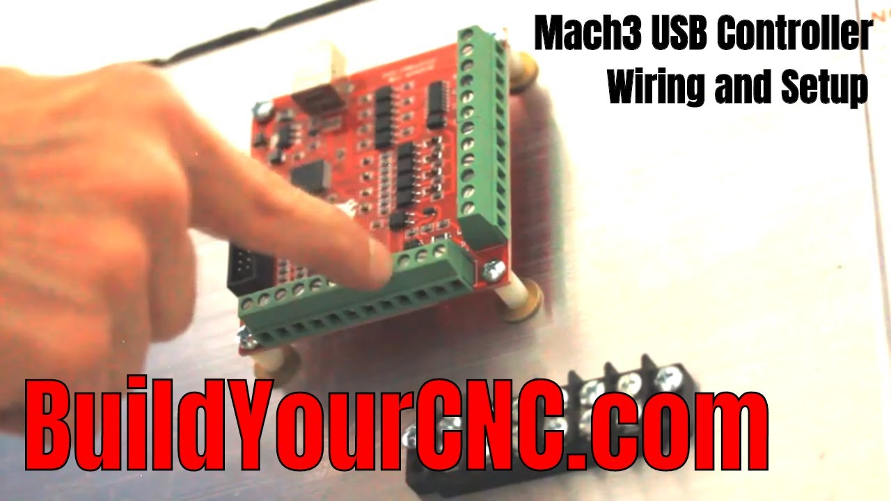 Mach3 USB Interface Board