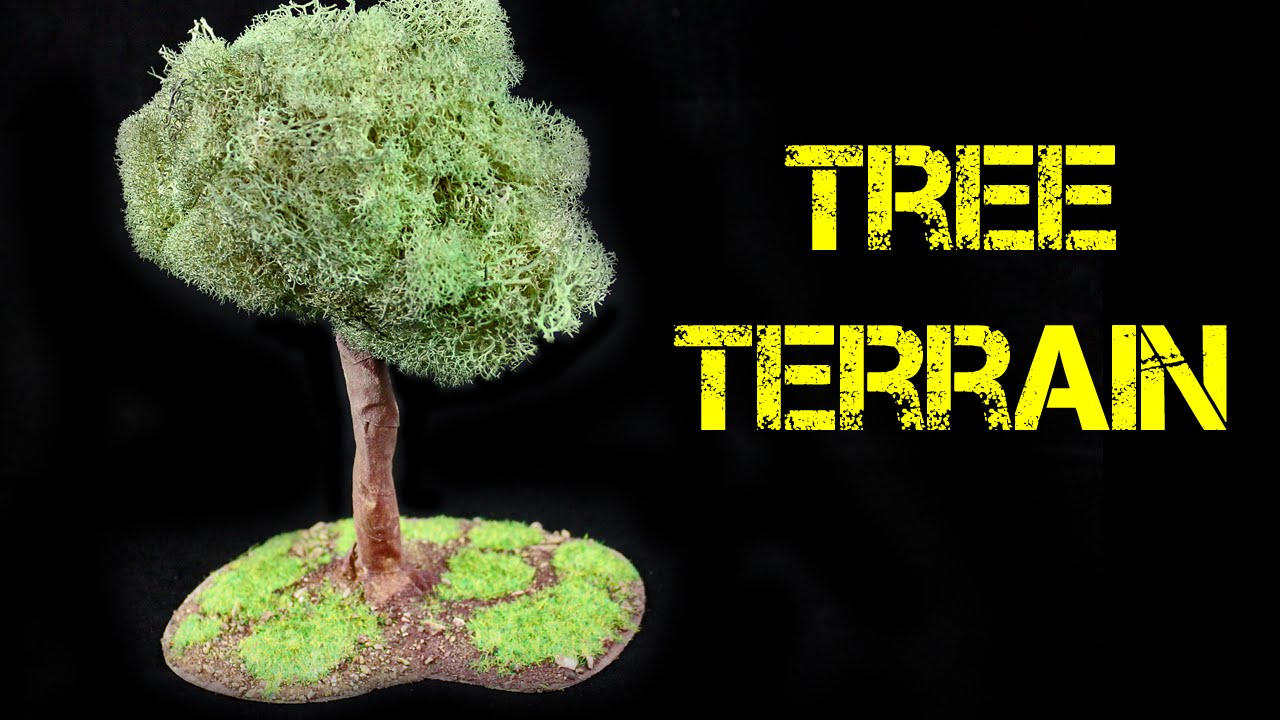 how to make terrain trees