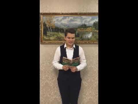 Изображение предпросмотра прочтения – НикитаШугайло читает отрывок изпроизведения «Ася» И.С.Тургенева