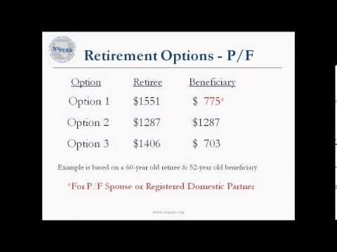 How to determine best pension option